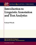 Introduction to Linguistic Annotation and Text Analytics