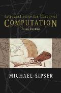 Introduction to the Theory of Computation Cover