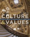 Culture and Values: A Survey of the Humanities, Volume II Cover