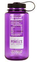 Powells Philosophy Nalgene Bottle (Purple)