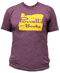 Powell's Oregon T-Shirt (Plum, Small)