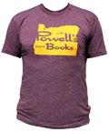 Powell's Oregon T-Shirt (Plum, X-Large)