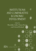 Institutions and Comparative Economic Development (International Economic Association) Cover