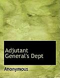 Adjutant General's Dept