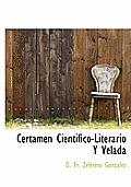 Certamen Cientifico-Literario y Velada
