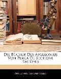 Die Bcher Des Apollonius Von Perga de Sectione Rationis