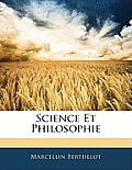Science Et Philosophie