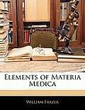 Elements of Materia Medica