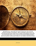Mementoes, Historical and Classical, of a Tour Through Part of France, Switzerland, and Italy, in the Years 1821 and 1822: Including a Summary History