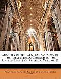 Minutes of the General Assembly of the Presbyterian Church in the United States of America, Volume 11