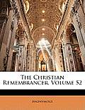 The Christian Remembrancer, Volume 52