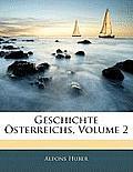 Geschichte Sterreichs, Volume 2
