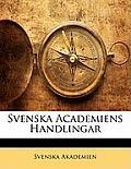 Svenska Academiens Handlingar