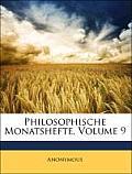 Philosophische Monatshefte, Volume 9