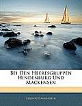 Bei Den Heeresgruppen Hindenburg Und Mackensen