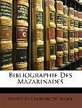Bibliographie Des Mazarinades