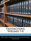 Transactions, Volumes 7-8