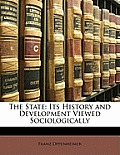 The State: Its History and Development Viewed Sociologically