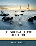 Le Journal D'Une Hritire