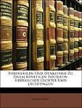 Ehrensulen Und Denksteine Zu Einem Knftigen Pantheon Hebrischer Dichter Und Dichtungen