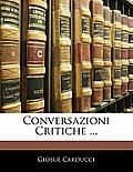 Conversazioni Critiche ...
