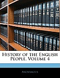 History of the English People, Volume 4