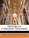 History of Christian Doctrine