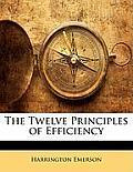 The Twelve Principles of Efficiency
