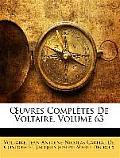 Uvres Compltes de Voltaire, Volume 63