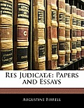 Res Judicat]: Papers and Essays