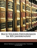 Buch Neuerer Erfindungen Im XIX Jahrhundert