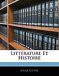 Littrature Et Histoire