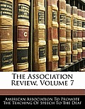 The Association Review, Volume 7