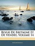 Revue de Bretagne Et de Vende, Volume 14