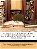 Sitzungsberichte Der Kaiserlichen Akademie Der Wissenschaften. Mathematisch-Naturwissenschaftliche Classe, Volume 19