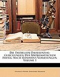 Die Partiellen Differential-Gleichungen Der Mathematischen Physik: Nach Riemann's Vorlesungen, Volume 1