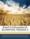Kant's Gesammelte Schriften, Volume 2