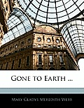 Gone to Earth ...