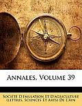 Annales, Volume 39