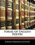 Forms of English Poetry