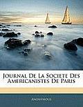 Journal de La Societe Des Americanistes de Paris