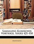 Sammlung Klinischer Vortrge, Issues 421-450