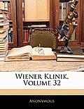 Wiener Klinik, Volume 32