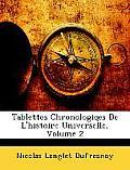 Tablettes Chronologiqes de L'Histoire Universelle, Volume 2