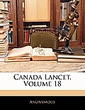 Canada Lancet, Volume 18