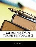Mmoires D'Un Touriste, Volume 2