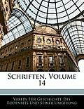 Schriften, Volume 14