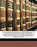 Studies from the Chemical Laboratory of the Sheffield Scientific School: Sheffield Laboratory. Bibliography. Papers on General Inorganic Chemistry. Pa