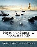 Historick Archiv, Volumes 19-20