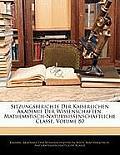 Sitzungsberichte Der Kaiserlichen Akademie Der Wissenschaften. Mathematisch-Naturwissenschaftliche Classe, Volume 80